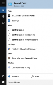 Where Is Control Panel In Windows 10?